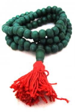 Green Yak Bone Mala - (NH-042)