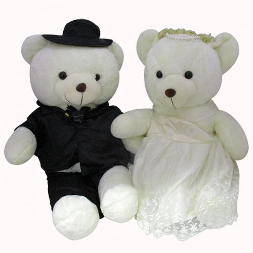 Sweet Couple Soft Teddy - (HH-002)