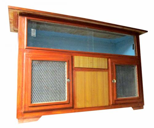 Kitchen Rack With Glass - (RD-036)
