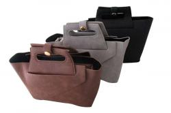 Fashionable Leather Side Bag - (DS-037)