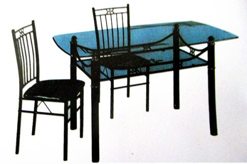Glass Dinning Table - 6 Seater - (RD-055)