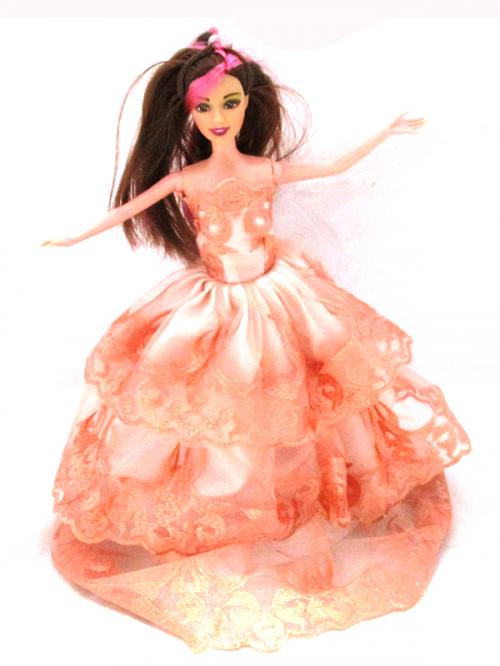 Preety Dolls With Stand & Hair Brush - (HH-023)