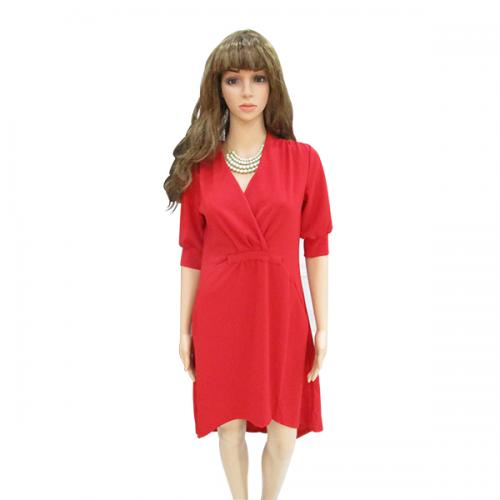 Red One Piece - Free SIze - (WM-006)
