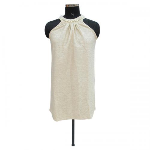 Short Party Wear With Rounded Neck - (WM-008)