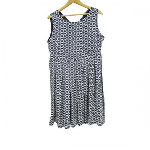 Silk Short Dress - Plus Size - (WM-013)
