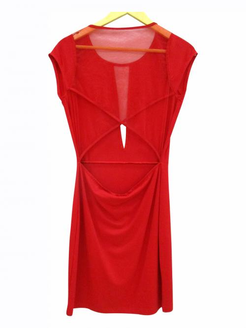 Long Red One PIece - (WM-040)