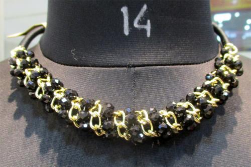 Round Chain Type Party Wear Necklace - (WM-056)