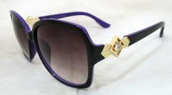 Purple Shaded Fashionable Sunglasses For Ladies - (WM-066)