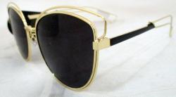 Black Fashionable Sunglasses For Ladies - (WM-067)