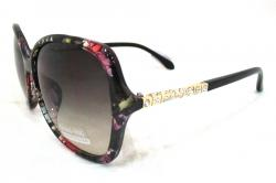 Shaded Sunglasses WIth Floral Frame For Ladies - (WM-073)