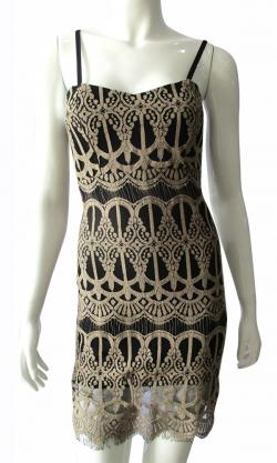 Designer Lace Dress - (TARA-002)
