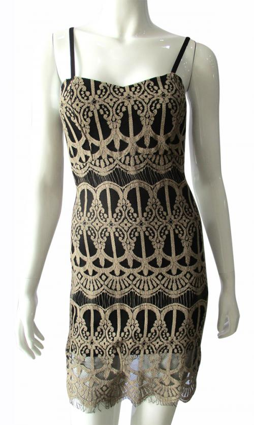 Designer Lace Dress - (TARA-002)