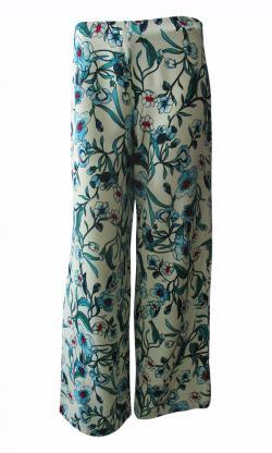 Wide Leg Straight Pant - Large - (TARA-005)