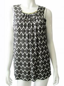 Black & White Printed Top - (TARA-011)