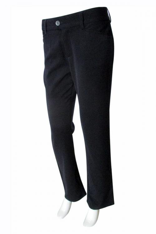 Black Formal Pant With Bottom - (TARA-026)