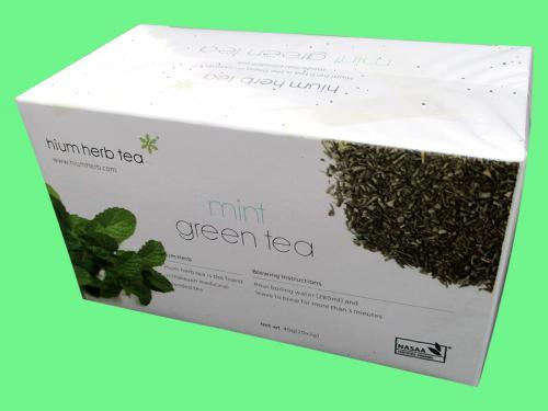 Mint Green Tea - (HP-003)