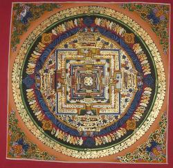 Kala Chakra Mandala (27cmx27cm)