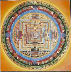 Kala Chakra Mandala(31cm x 31cm)