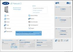 Lacie D2 Network 2 3TB - (OS-255)