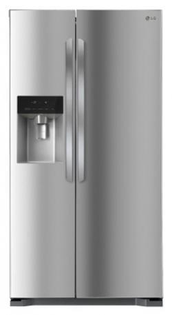 LG Side By Side Refrigerator (GS-L5062PZ) - 567 Ltr
