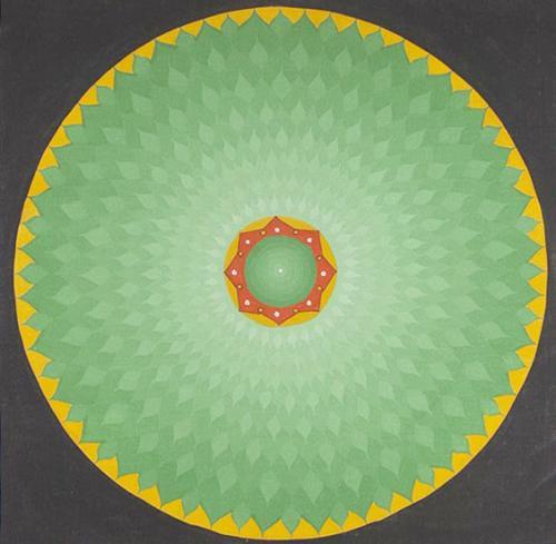 Lotus Thanka (30cmx30cm)