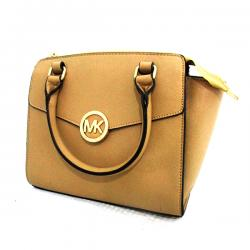 Michael Kors Cream Color Hand Bag - (LAC-030)