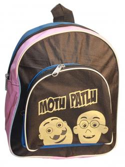 Motu Pattlu Cartoon Print Kids School Bag