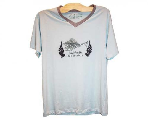 Mountains Printed T-Shirt
