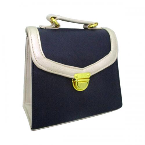 Nevy Blue Side Bag For Ladies - (LAC-025)