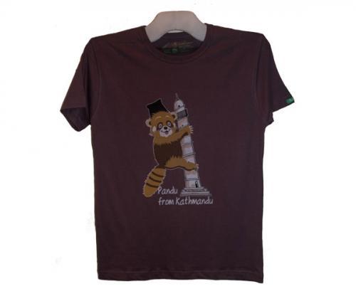 Panda Printed T-Shirt