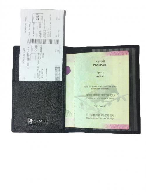 PASSPORT HOLDER - Genuine Leather Passport or Bill book / License holder