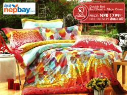 PK Series Double Bed Sheets 100% Cotton - (PK-201)