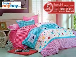 PK Series Double Bed Sheets 100% Cotton - (PK-203)