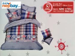 Pure Korean Cotton Bedsheet - (PK-204)