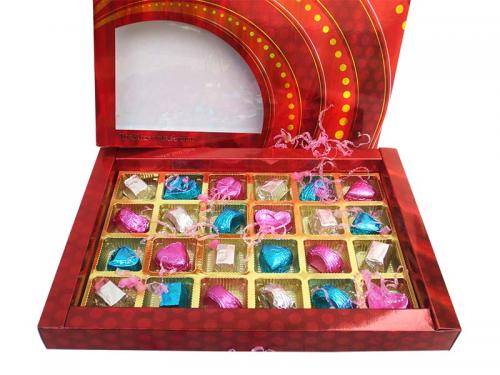 Red Celebrations Chocolate Box (TCG-016) - 24 piece in a pack