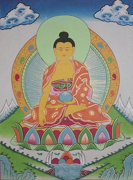 Shakya Muni Buddha (28cmx37cm)