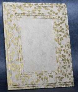 Handmade photo frame