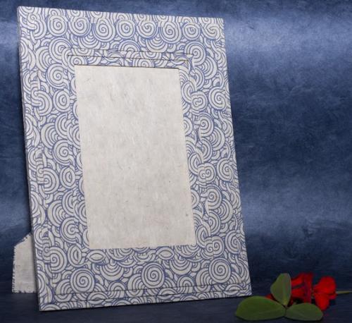Handmade Lokta paper photo frame