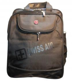 Swiss Air 3 Side Laptop Bag