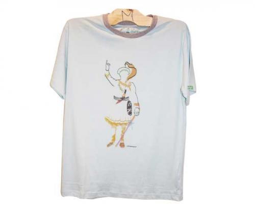 Symbol of Unity Printed T-Shirt