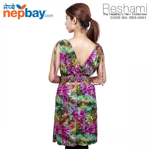 The Elegant Women's Party Dress (RES-0001) - Free Size