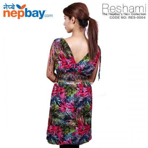 The Elegant Women's Party Dress (RES-0004) - Free Size