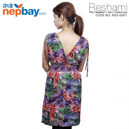 The Elegant Women's Party Dress (RES-0007) - Free Size