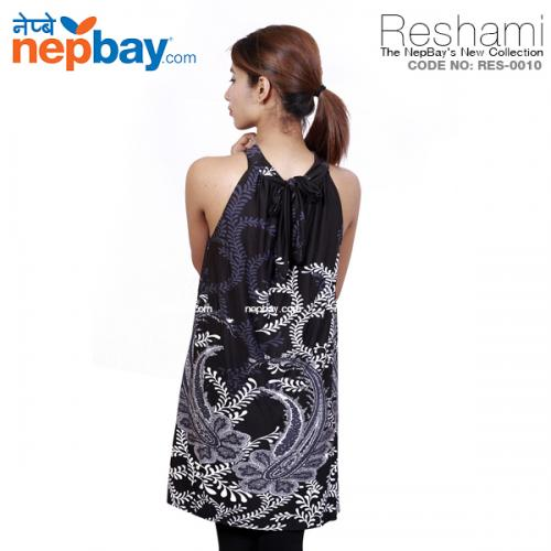 The Elegant Women's Party Dress (RES-0010) - Free Size