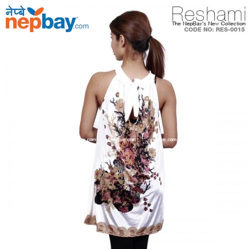 The Elegant Women's Party Dress (RES-0015) - Free Size