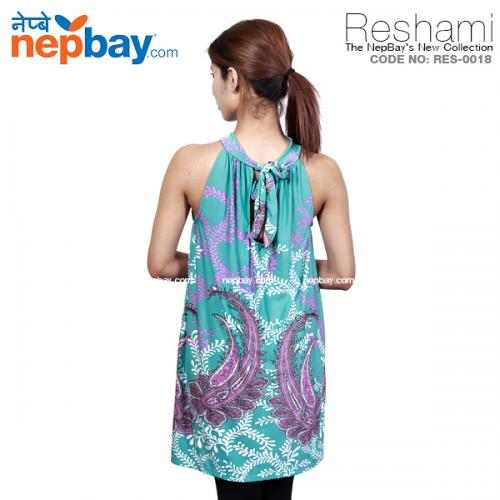 The Elegant Women's Party Dress (RES-0018) - Free Size