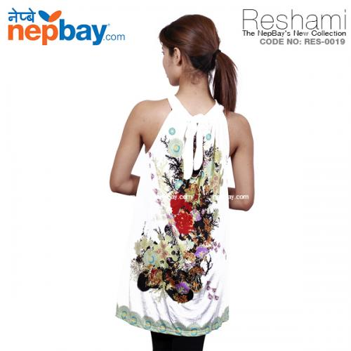 The Elegant Women's Party Dress (RES-0019) - Free Size