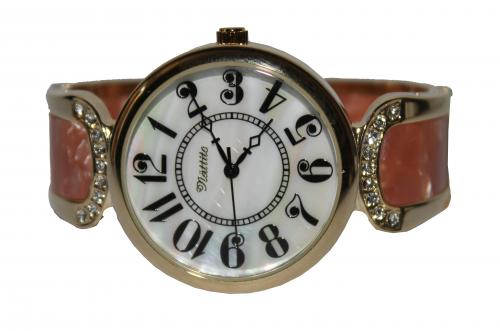 White Bangle Design Ladies Watch Model no: ASS087-1.