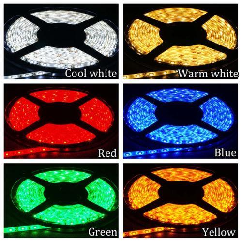 3528 SMD Waterproof IP65 300 LEDs Flexible Strip Lights - Per Meter - (OR-005)