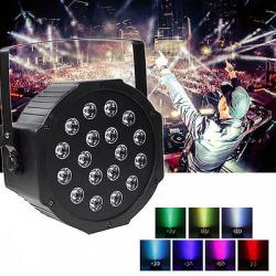 New 18W LED RGB Stage Light - Disco DJ Lighting - (OR-006)